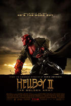"Poster art for ""Hellboy II: The Golden Army."""