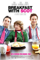 "Poster art for ""Breakfast With Scot."""