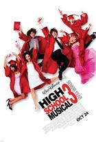 "Poster art for ""High School Musical 3: Senior Year."""