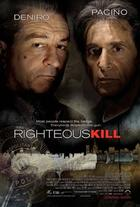 "Poster art for ""Righteous Kill."""