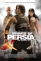 "Poster art for ""Prince of Persia: The Sands of Time."""