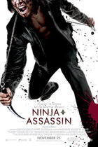 "Poster art for ""Ninja Assassin."""