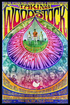 "Poster art for ""Taking Woodstock."""