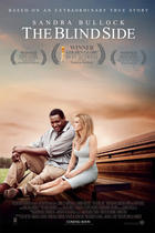 "Poster art for ""The Blind Side."""
