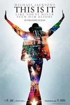 "Poster art for ""Michael Jackson's This Is It."""