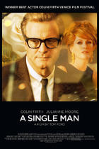 "Poster art for ""A Single Man."""