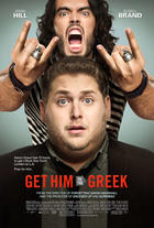 "Poster art for ""Get Him to the Greek."""