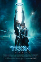 "Poster art for ""Tron: Legacy 3D"""