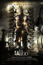 "Poster art for ""Saw 3D"""