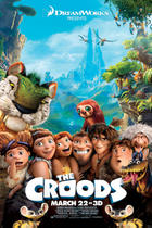 "Poster art for ""The Croods."""