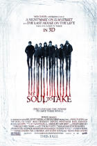 "Poster art for ""My Soul to Take."""
