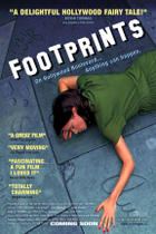"Poster art for ""Footprints."""