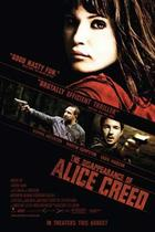 "Poster art for ""The Disappearance of Alice Creed."""