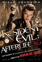 "Poster art for ""Resident Evil: Afterlife: An IMAX 3D Experience."""