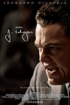 "Poster art for ""J. Edgar."""