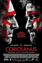 "Poster art for ""Coriolanus."""