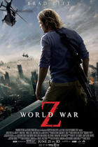 "Poster art for ""World War Z."""