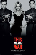 "Teaser poster art for ""This Means War."""
