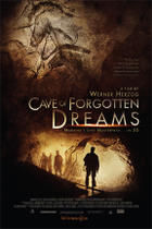 "Poster art for ""Cave of Forgotten Dreams."""