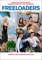 "Poster art for ""Freeloaders."""