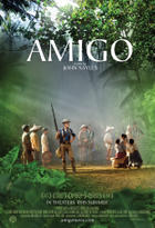"Poster Art for ""Amigo."""