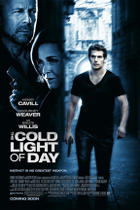 "Poster art for ""The Cold Light of Day."""