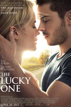 "Poster art ""The Lucky One."""