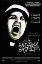 "Poster art for ""The Catechism Cataclysm."""