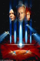 "Poster art for ""The Fifth Element."""
