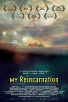 "Poster art for ""My Reincarnation."""