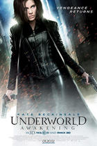 "Poster art for ""Underworld Awakening 3D."""