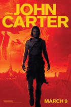 "Poster art for ""John Carter 3D."""