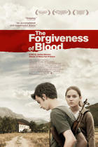 "Poster art for ""The Forgiveness of Blood."""