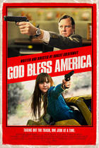 "Poster art for ""God Bless America."""