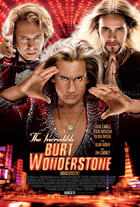 "Poster art for ""The Incredible Burt Wonderstone."""