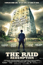 "Poster art for ""The Raid."""
