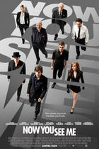 "Poster art for ""Now You See Me."""