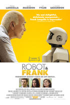 "Poster art for ""Robot and Frank."""