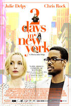 "Poster art for ""2 Days in New York."""