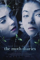 "Poster art for ""The Moth Diaries."""