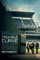 "Poster art for ""Trouble with the Curve."""