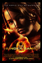 "Poster art for ""The Hunger Games: An IMAX Experience."""