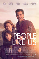 "Poster art for ""People Like Us."""