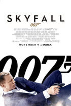 "Poster art for ""Skyfall: The IMAX Experience."""