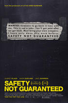 "Poster art for ""Safety Not Guaranteed."""