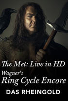 "Poster art for ""Das Rheingold: Met Opera Ring cycle Encore."""