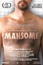 "Poster art for ""Mansome."""