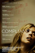 "Poster art for ""Compliance."""
