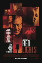 "Poster art for ""Red Lights."""