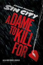 "Poster art for ""Sin City: A Dame to Kill For."""